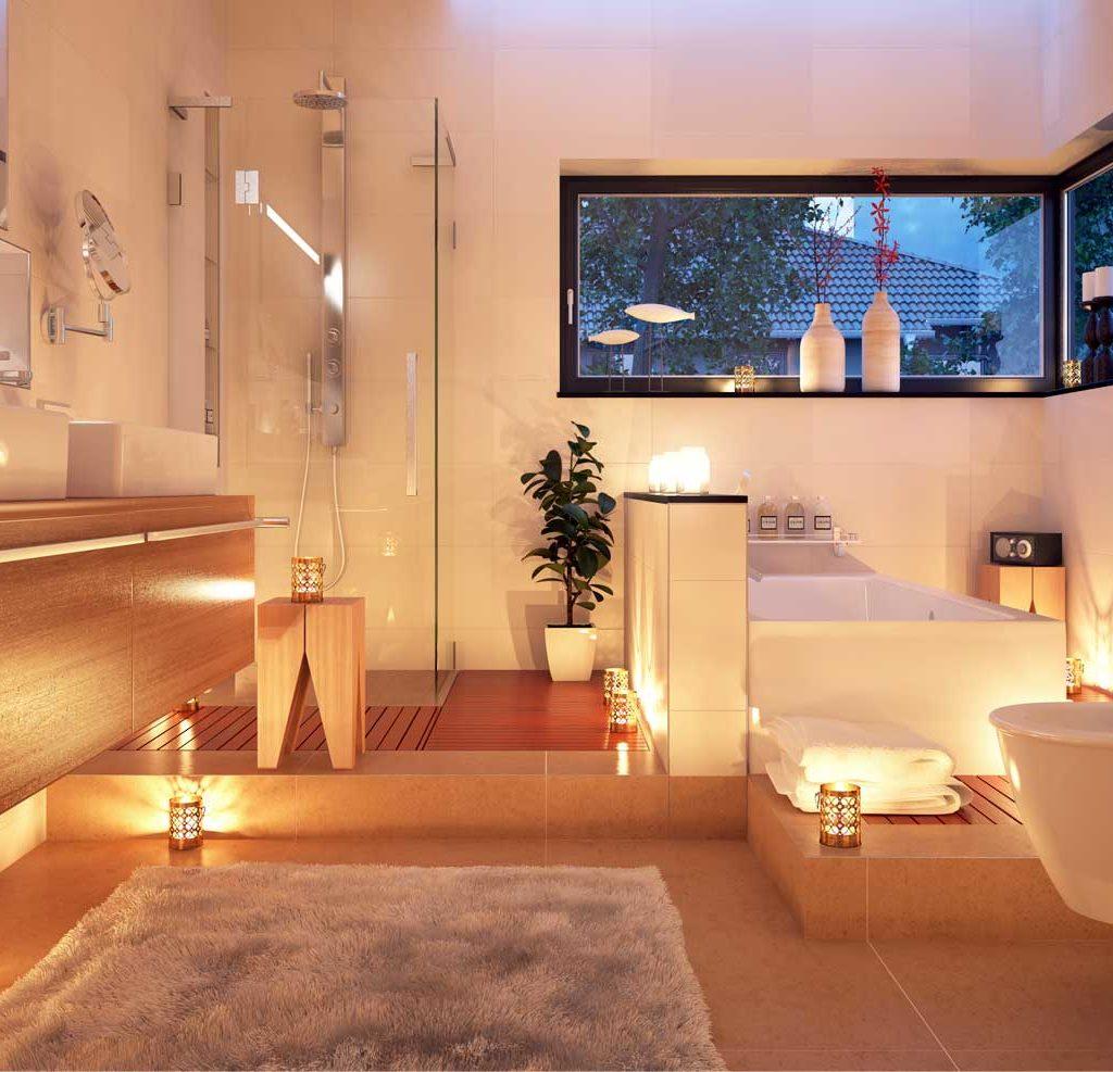 Modernes Bad Korkemeier Sanitar Heizung